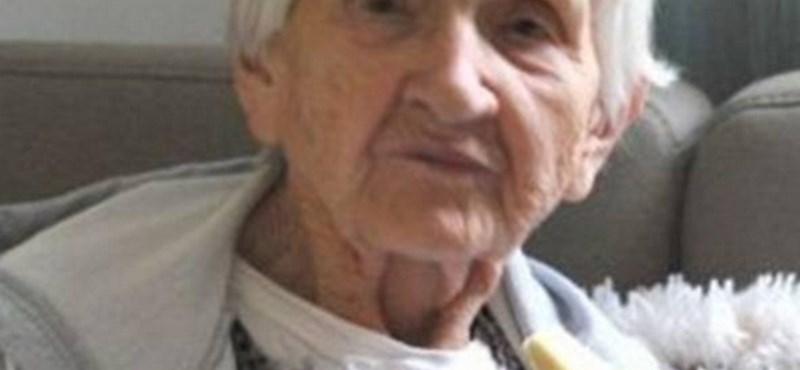 Holtan találták a MÁV Kórházban az eltűnt 90 éves nénit