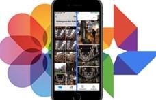 Ha iPhone-ja van, mostantól átpakolhatja fotóit a Google tárhelyére is