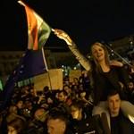 Gimnazisták és főiskolások ezrei tüntetnek Budapesten