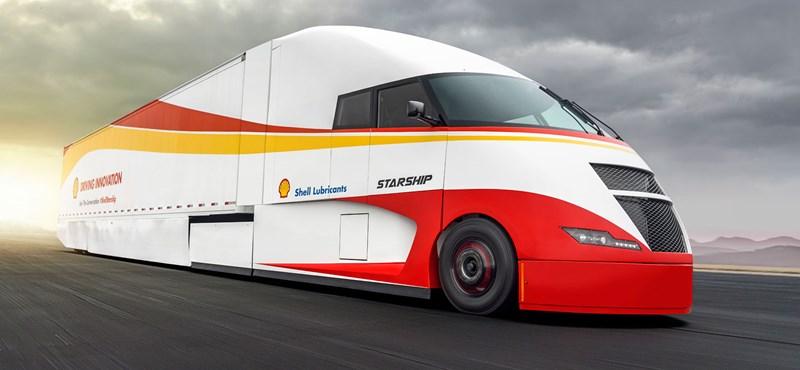 """Nem véletlenül hívják """"Űrhajónak"""" ezt a kamiont, amivel fogyasztási rekordra készülnek"""