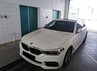 Koszovóba tartott ez a majdnem vadonatúj, de lopott 5-ös BMW
