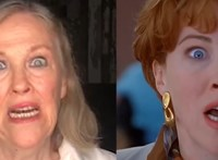 Catherine O'Hara újraalkotta a Reszkessetek betörők! ájulós jelenetét