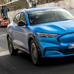 Európába jött az elektromos Ford Mustang divatterepjáró