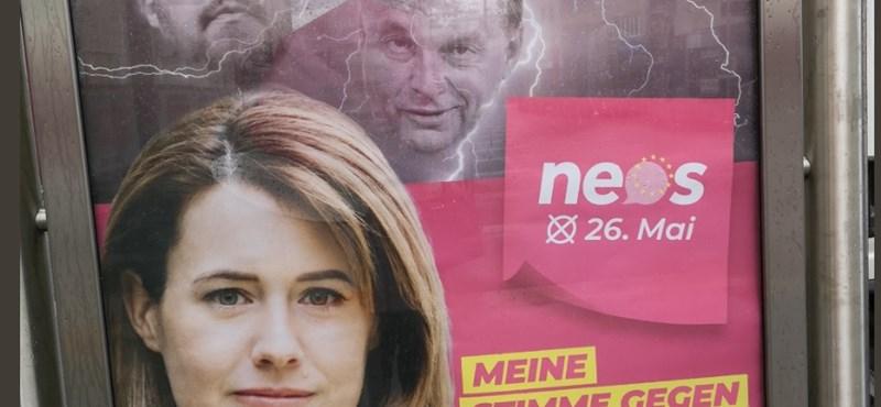 Orbán arcával kampányolnak az osztrák liberálisok