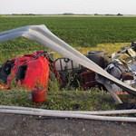 Fotó a halálos tartálykocsi-baleset helyszínéről