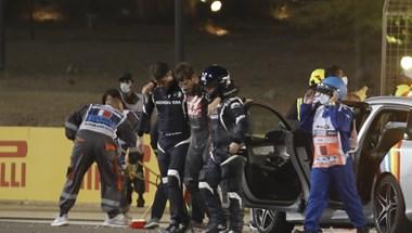 Romain Grosjean a balesetéről: Láttam jönni a halált
