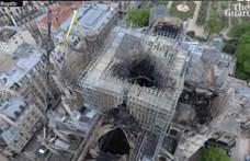 Kész csoda, hogy Notre-Dame még áll! - állítják a párizsi tűzoltók