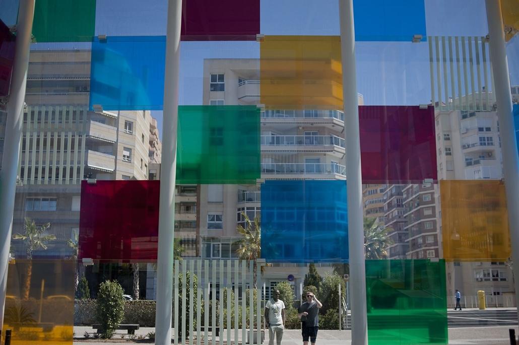 afp.16.03.29. Turisták Spanyolországban,  Malaga városában. Spanyolország, Malaga