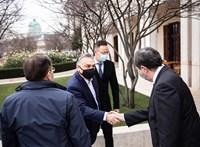 Meglátogatta Orbán Viktort a Roszatom vezérigazgatója
