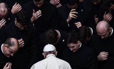 Ferenc pápa: Minden ember, akit a mai világban is selejtnek tartanak, Isten fiának számít