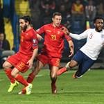 Rendesen feldühítették a montenegróiak az angolokat