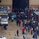 A spanyol rendőrök ma lőttek le egy 40 órája tartó illegális rave partit