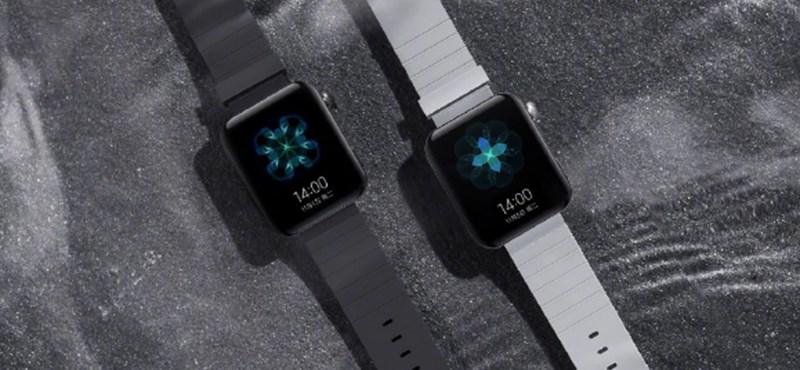 Jön a Xiaomi első igazán okos órája, a külseje ismerős lesz az Apple Watch-ról