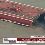 Súlyos tankerbaleset, 50 ezer hordó olaj folyt a tengerbe Houstonnál