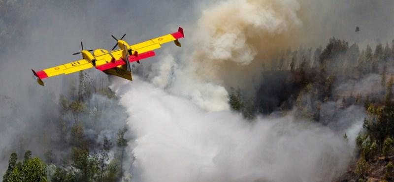 Eloltották a legdurvább tüzet Portugáliában