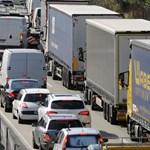 20 tonnás kamion került bajba Zala megyében