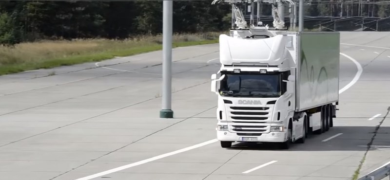 Mi lenne, ha áramszedőssé alakítanák a kamionokat? A Scania megcsinálta