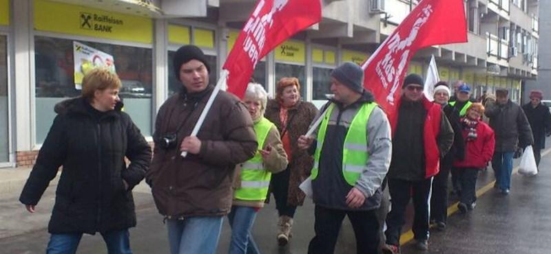 Szegedről is elindult az éhségmenet
