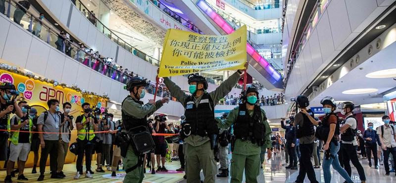 Tizenkét hongkongit vett őrizetbe Kína