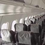 Amikor felszálltak a repülőre, kiderült, hogy csak ketten vannak rajta