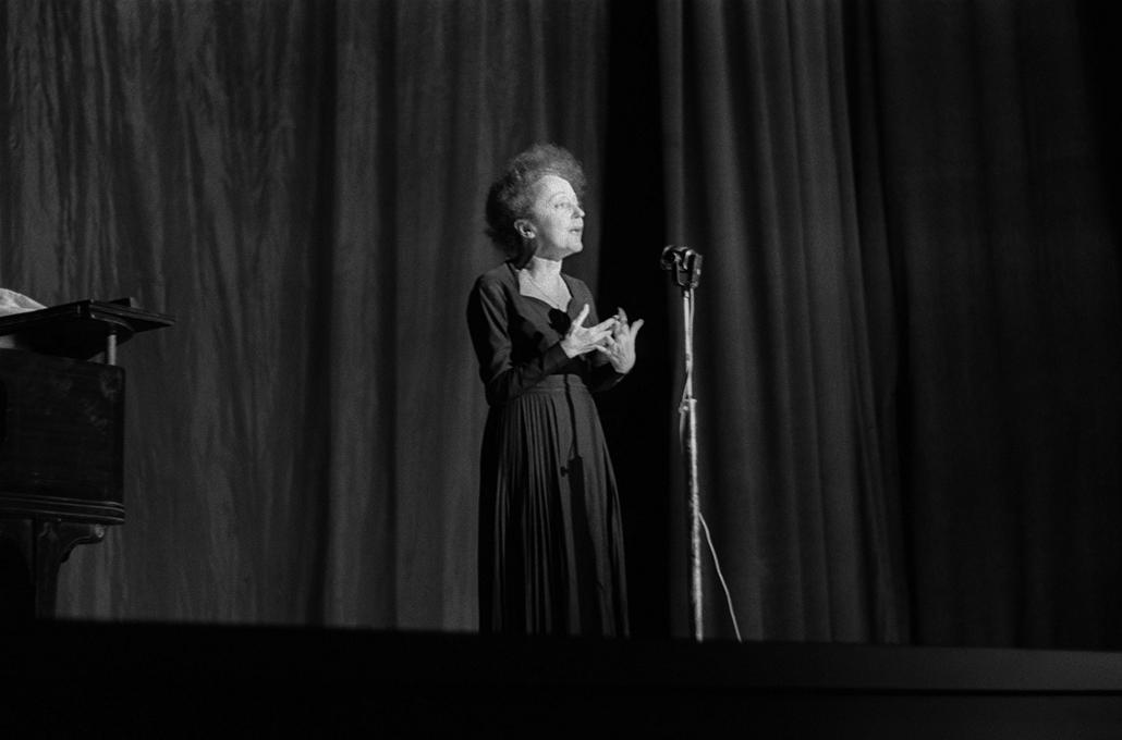 1960. december 30. - Edith Piaf az Olympia színpadán - Edith Piaf