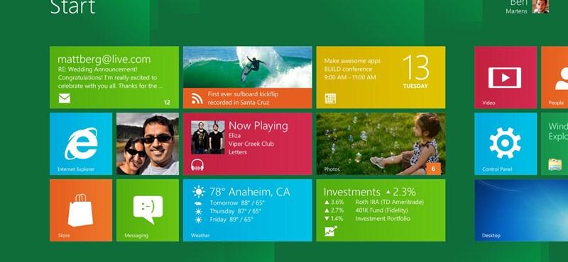 Minden, amit a Windows 8-ról tudni akartál (csak nem merted megkérdezni)