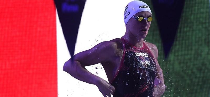 Hat magyar érem termett ma budapesti úszó világkupán
