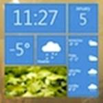 Látványos, WP7 stílusú időjárás-widget a Windowsra