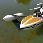 Kipróbáltuk a drónt, ami nem csak repülni tud, hanem úszni is