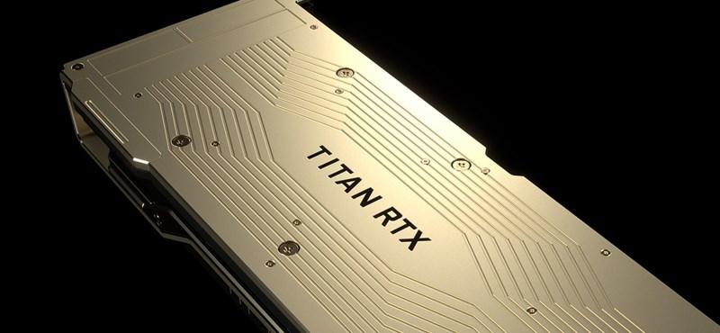 Megjött az Nvidia szörnyetege: 24 GB RAM van az új videokártyában