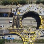 Formát öltött az ország legnagyobb körhídja, így néz ki felülről – fotók