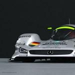Így nézne ki egy Le Mans-i Mercedes rakéta