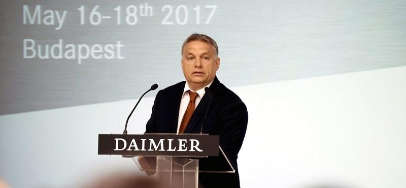 Orbán: Olyan Európára van szükség, mint egy Mercedes