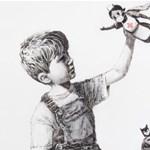 Több mint 7 milliárdhoz jut egy brit kórház egy eladott Banksy-festmény után