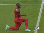 Todos los italianos se arrodillaron, Lukaku estaba agradecido y nadie estaba en problemas.