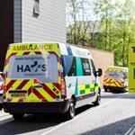 Az eboláéhoz fogható a koronavírus halálozási aránya a brit kórházakban