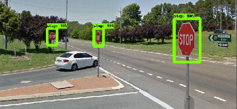 A mesterséges intelligencia felismeri a rossz KRESZ-táblákat a Google Street View-n