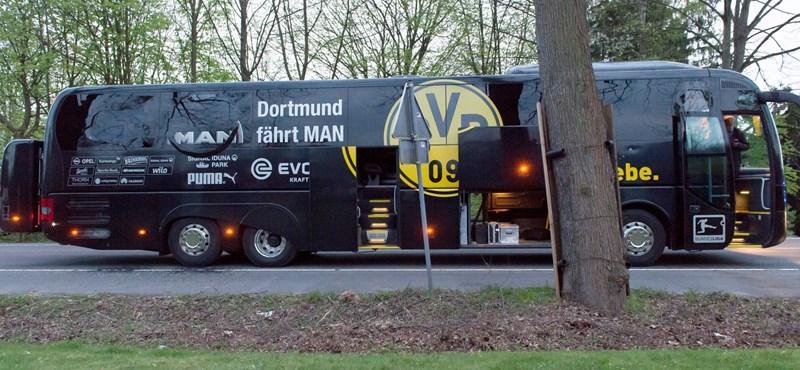Iszlamista robbanthatott a Borussia Dortmund buszánál