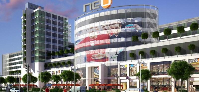 Neo Center pláza: az üzletek 40 %-ára már van bérlő