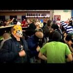 Kelet-Európából terjed az őrület: ultrák idióta táncikálása - videók