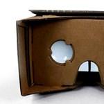 Nem fogja elhinni: kartonból készített virtuális valóság headsetet a Google