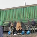Menekültek rejtőztek egy Kelebiánál belépő tehervonatban – videó