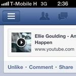 Új gomb a mobilos Facebookon