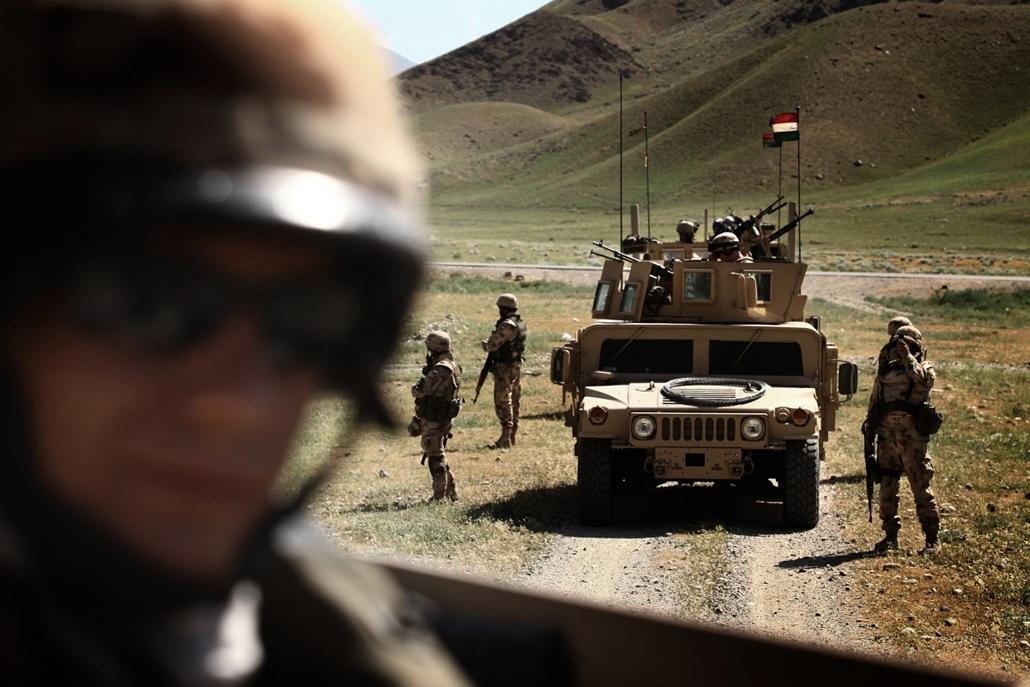 Magyar katonák afganisztánban