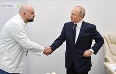 Kezet fogott Putyin egy orvossal, akiről később kiderült, hogy koronavírusos