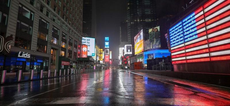 Már 776-an haltak meg a koronavírus miatt New Yorkban