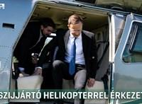 Nem árulják el, hányszor használta Szijjártó a rendőrség helikopterét
