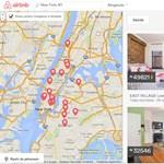 Egy év alatt duplázott az Airbnb