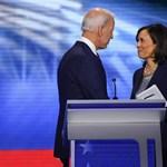Joe Biden mellett Kamala Harris is főszereplő