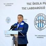 Orbán: Még sok megépítendő sportközpont vár ránk